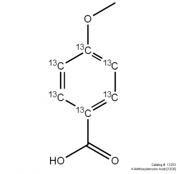 Methoxybenzoic acid-[13C6]