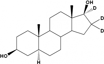 Androstane-3β,17β-diol-[d3], 5α- (Dihydroepiandrosterone-[d3])