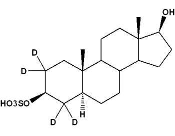 Androstane-3β,17β-diol-3-sulfate-[d4], 5α-