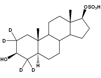Androstane-3β,17β-diol-17-sulfate-[d4], 5α-