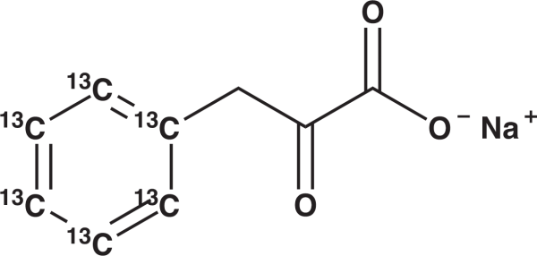 Phenylpyruvate-[13C6] Sodium Salte