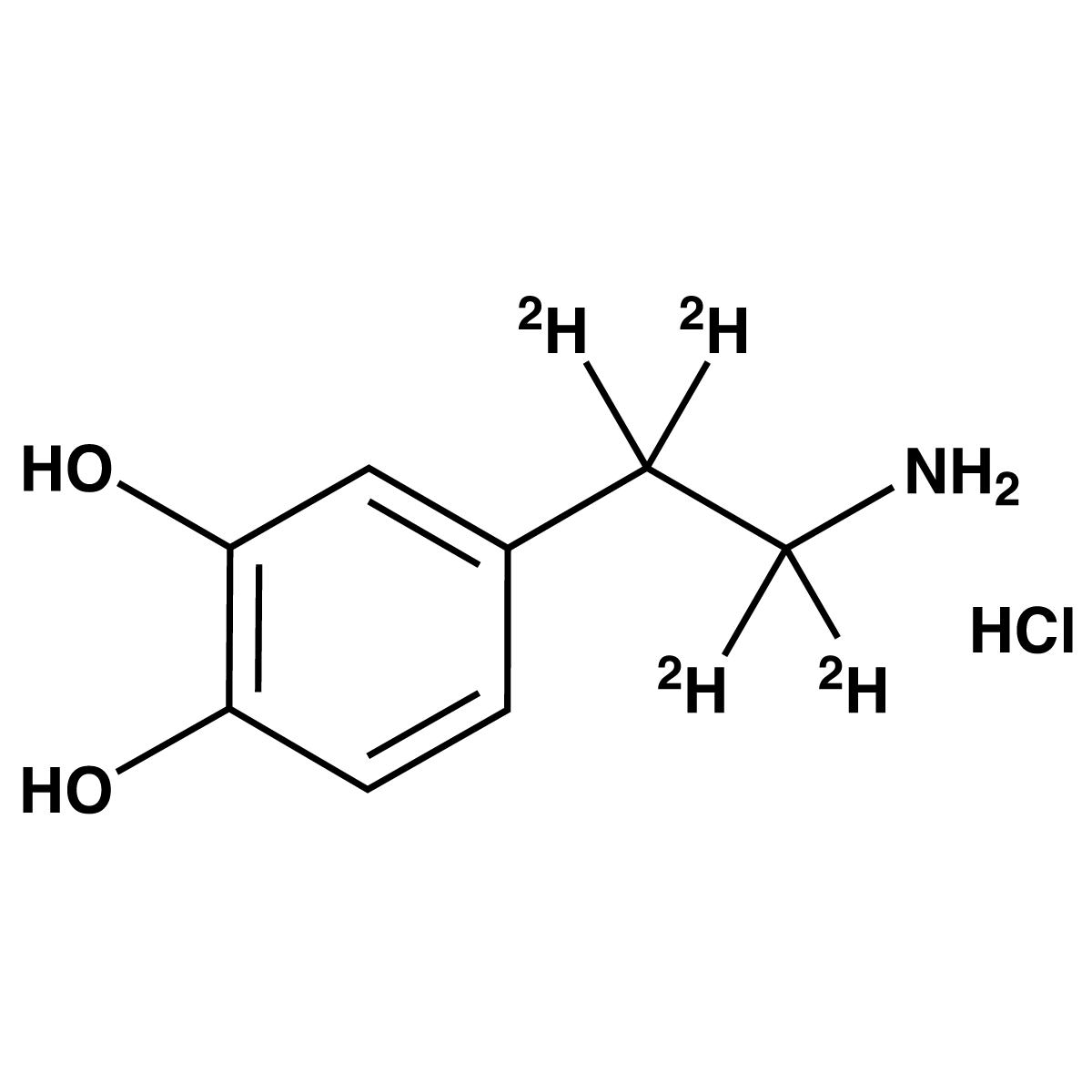 Dopamine-[d4] Hydrochloride (Solution)