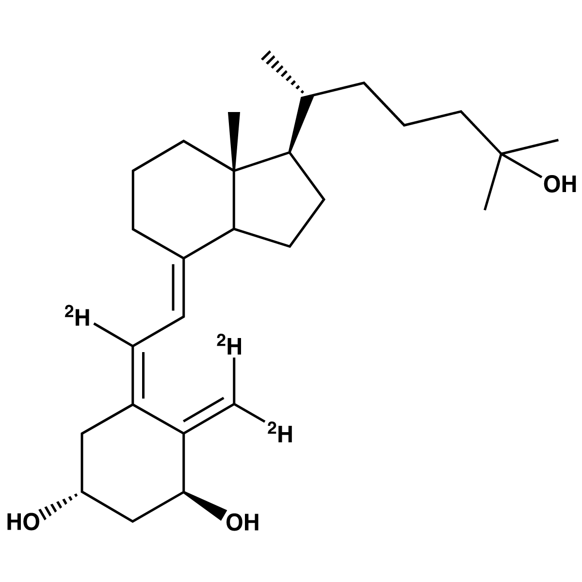 1,25-Dihydroxyvitamin D3-[d3] (Solution)